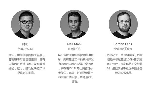 量子链Qtum项目团队介绍